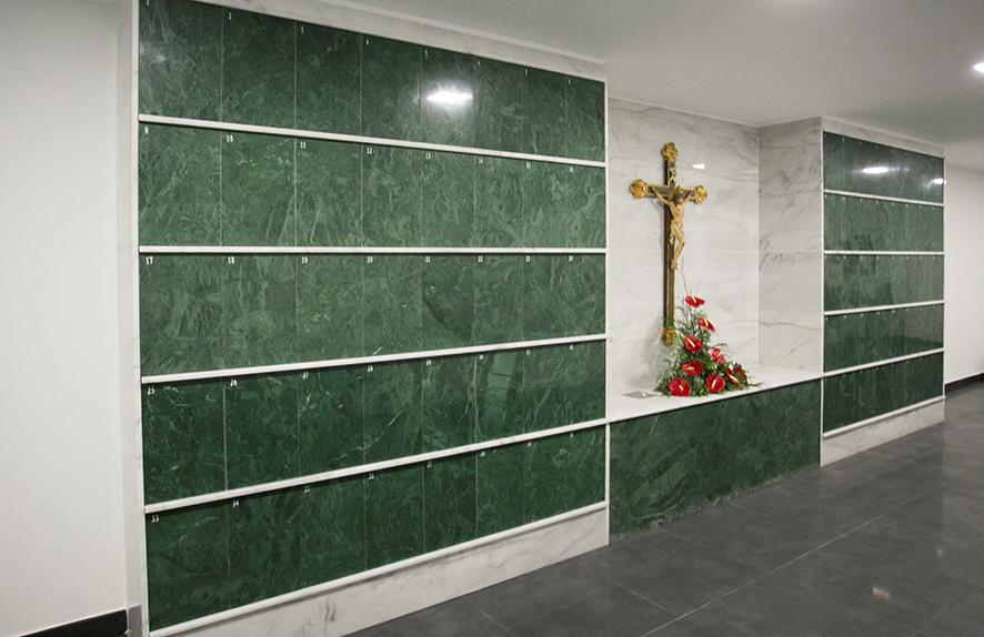 El columbario parroquial